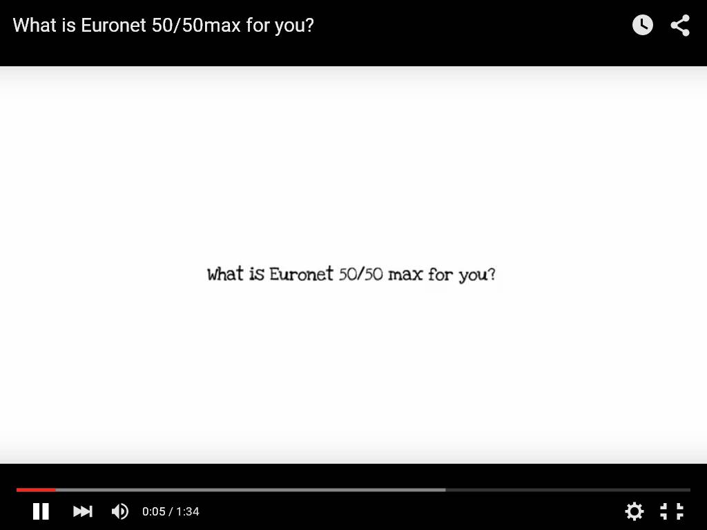What is euronet max for you